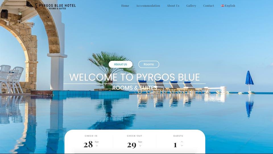 Pyrgos Blue Hotel Crete Greece